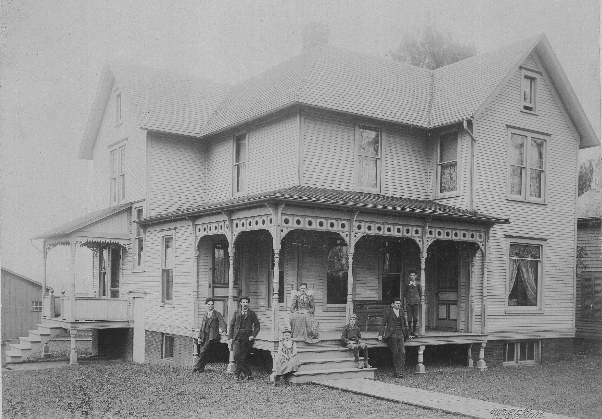 Historic photos for 1890 house plans