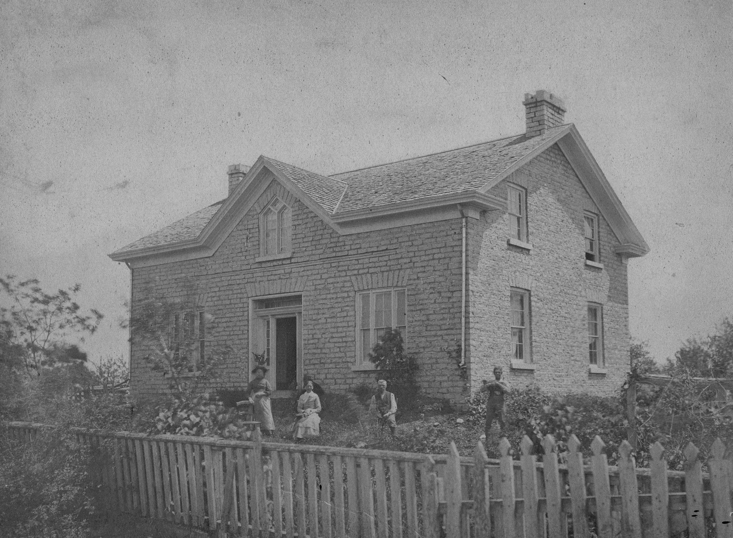 Gothic Revival I House Ca 1850s